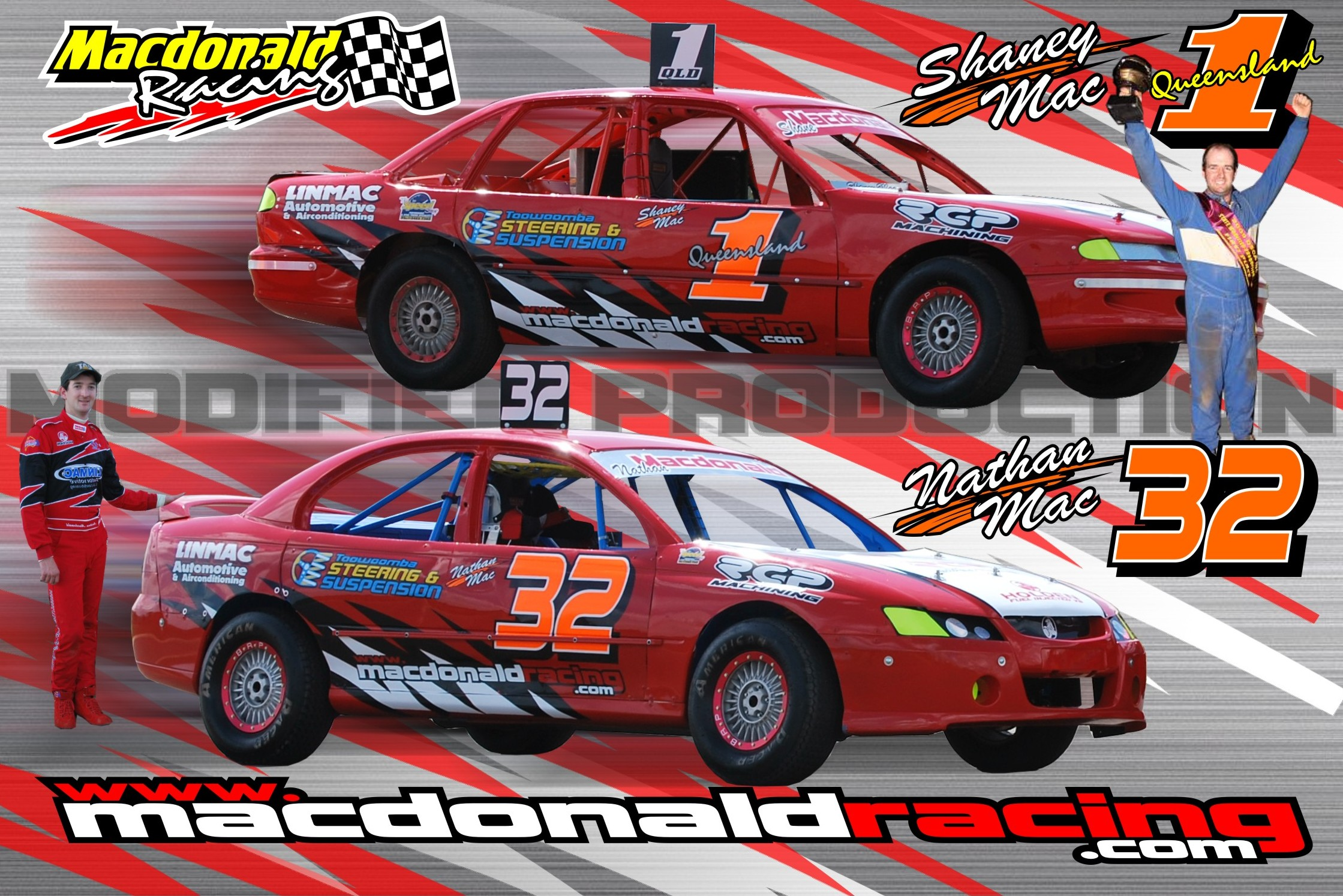 Macdonald Racing Modified Sedans